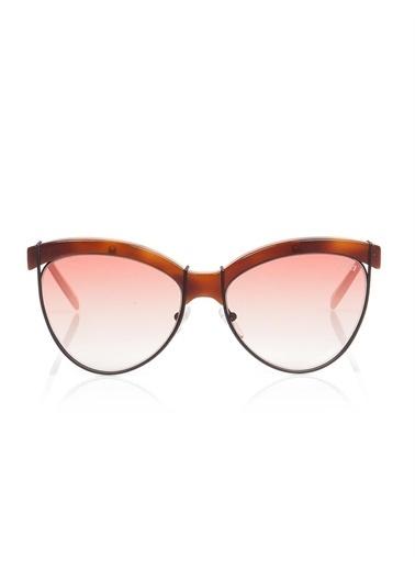 Emilio Pucci  Ep 0057 53Z Kadın Güneş Gözlüğü Kahve